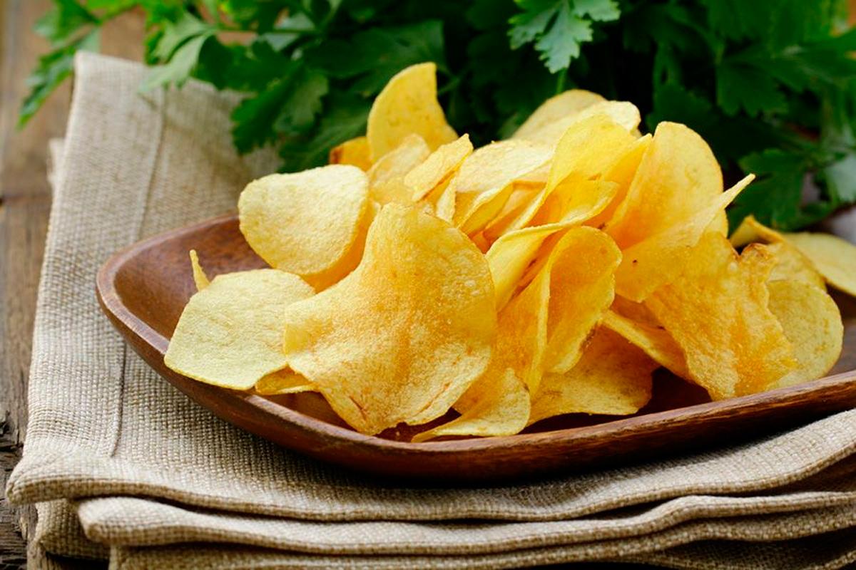 Batata chips – Foto: Reprodução