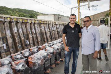 Prefeito Djalma Alves e Secretario Murilo Amorim