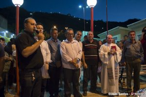 Cerimônia de entrega ambulância modelo semi UTI em Solidão