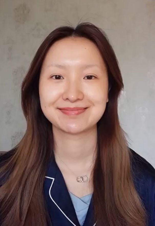 He Yuhong foi desafiada a se transformar na Mona Lisa