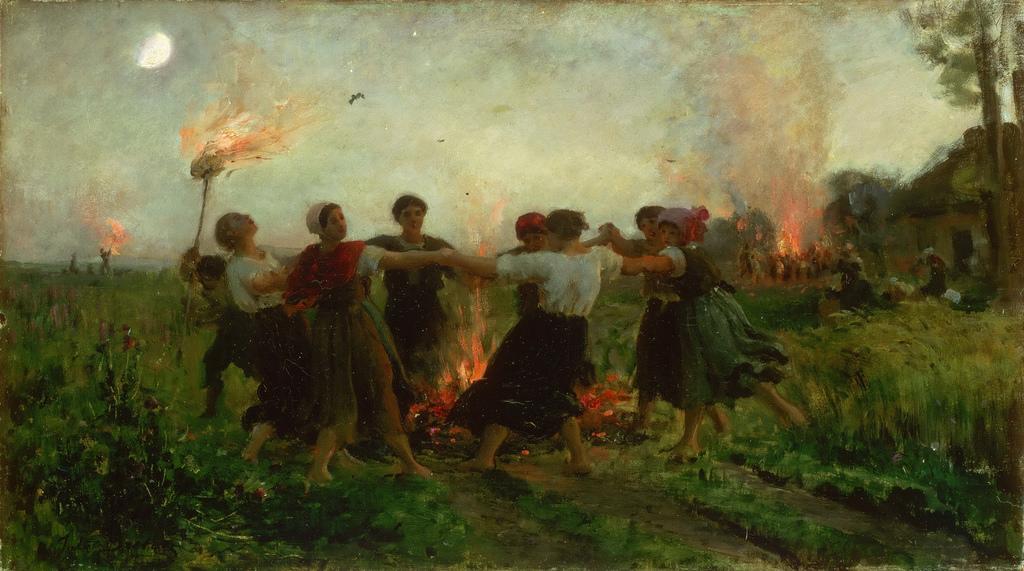 A Festa de São JoãoporJules Breton(1875) – Foto: Reprodução/Wikipedia