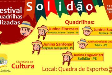 1º festival de Quadrilhas Estilizadas de Solidão - PE