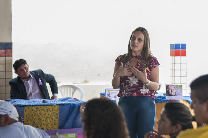 Palestra de combate à violência contra idosos em Solidão – João Santos/ S1 Notícias