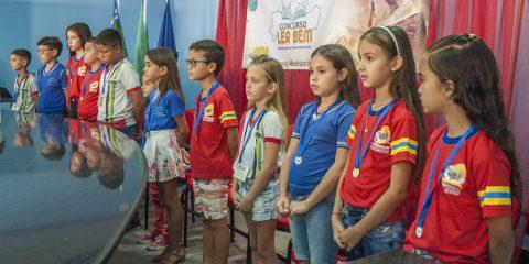Participantes do 3º, 4º e 5º ano do Curso Ler Bem em Solidão