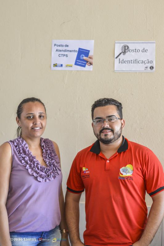 Tiago Barros e Silvia Almeida Secretaria de ACS
