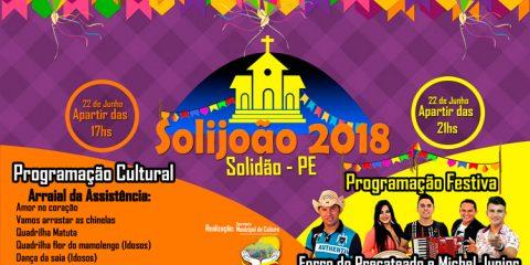 Programação doo SoliJoão 2018