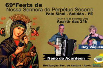 69ª Festa de Nossa Senhora do Perpetuo Socorro em Pelo Sinal