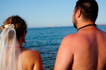 Casando sem roupa: veja como foi a cerimônia de casal naturalista