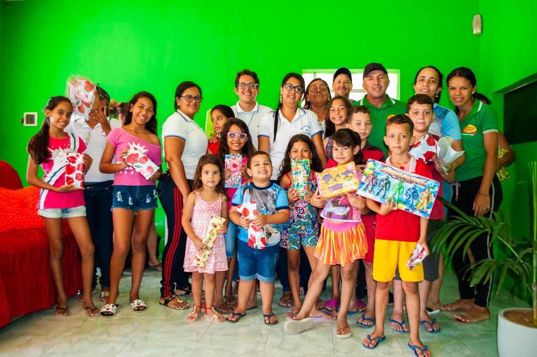 Dia criança em Solidão – Foto: João Santos