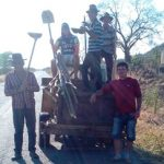 Pequeno Grupo do terço dos homens de Solidão – Foto/Reprodução