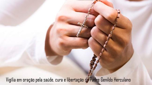 Meia-Vigília em oração pelo Padre Genildo – Foto/Reprodução