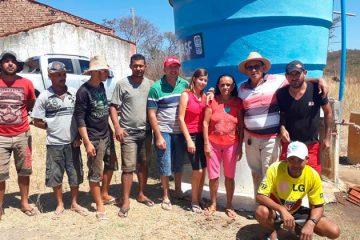 Prefeito Djalma Aves concerta poço na comunidade de Solidão