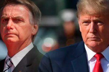 Bolsonaro declarou que alguns líderes ligaram para ele, entre eles o presidente dos EUA – Foto/Reprodução