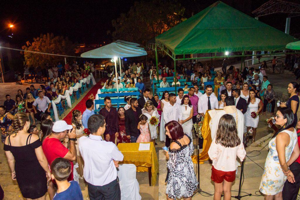Casamento coletivo em Solidão – Foto: João Santos