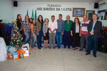 Confraternização da Câmara vereadores de Solidão - Foto: João Santos