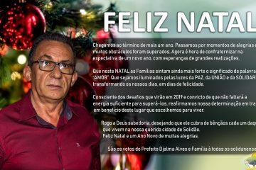 Mensagem do Prefeito Djalma Alves