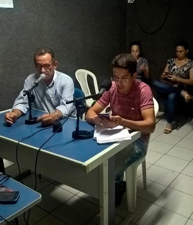Entrevista na Rádio Serra Linda Fm- Foto/BlogdoVeras