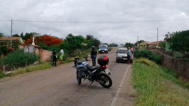 Acidente de trânsito com vítima não fatal na PE-309 – Foto/Divulgação/GM.Tabira