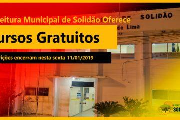 Em parceria com a UFPE Solidão oferece 45 cursos gratuitos