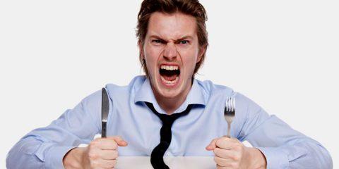 Por que ficamos irritados quando estamos com fome?