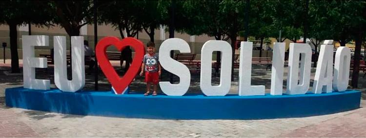 Pessoas declaram seu amor pelo município – Foto/Reprodução/Facebook