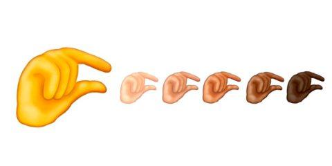 Novo emoji de mãozinha está dando o que falar na internet