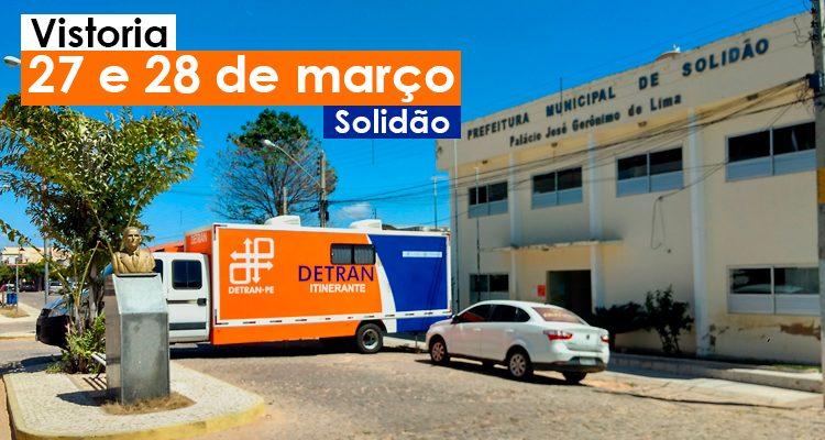 Solidão receberá vistoria do Detran-Itinerante no mês de março
