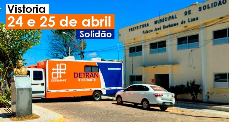 Detran Itinerante irá estar em Solidão neste mês de abril – Foto: João Santos/ S1 Notícias