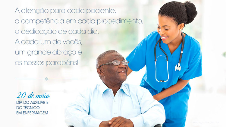 20 de maio - Dia Nacional do Técnico e Auxiliar de Enfermagem