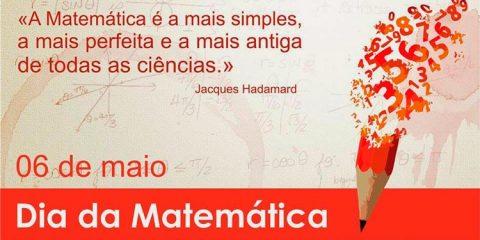 6 de maio - Dia da Matemática
