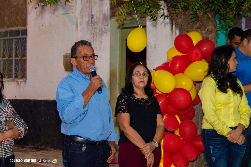 Prefeitura inaugura calçamento em Pelo Sinal – Foto: João Santos/ S1 Noticias