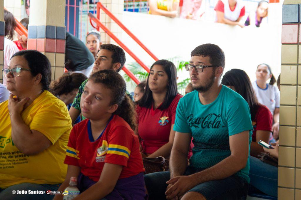 Palestra sobre abuso de crianças e adolescentes – Fotos: João Santos/ S1 Notícias