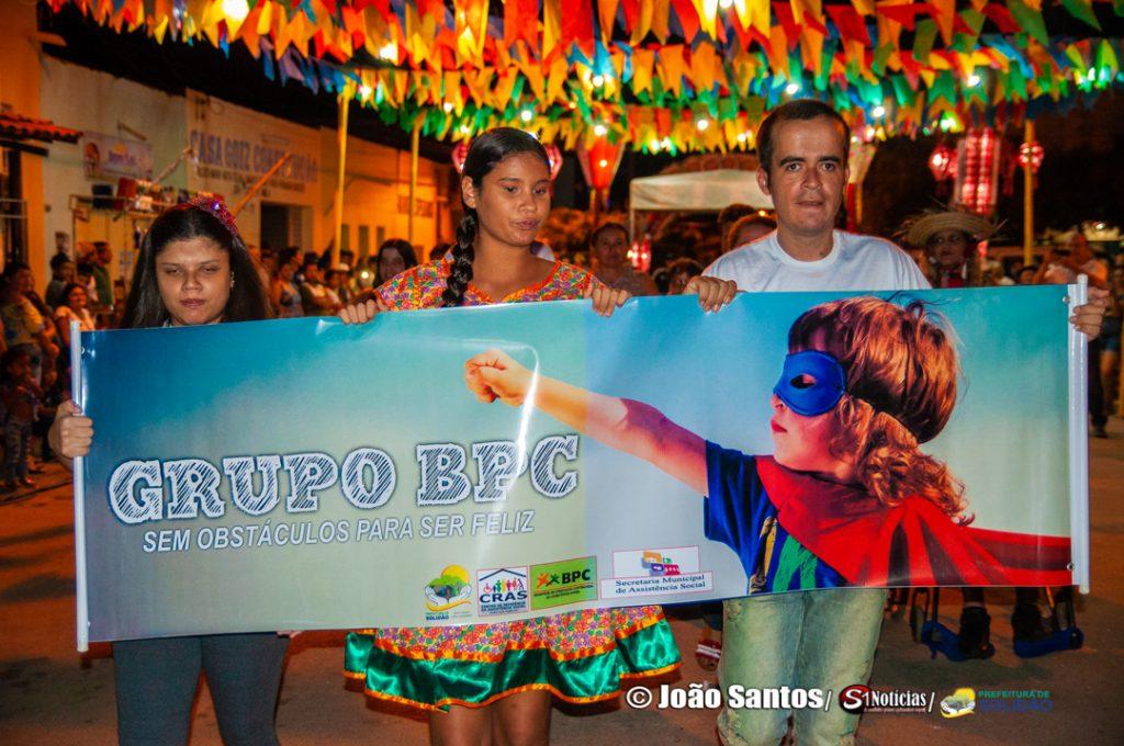 Desfile do Grupo do BPC – Foto: João Santos/ S1 Notícias/ Divulgação