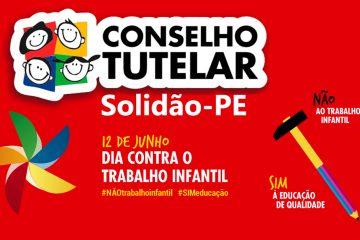 Solidão: Ato em alusão ao Dia Mundial e Nacional de Combate ao Trabalho Infantil