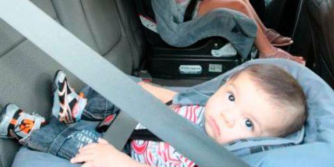 Projeto quer eliminar multa para condutor que transportar criança sem cadeirinha