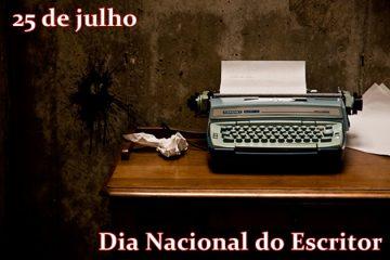 25 de julho - Dia do Escritor