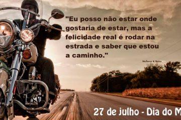 27 de julho - Dia do Motociclista