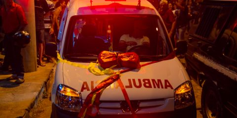 Prefeito Djalma Alves entrega nova ambulância em Solidão
