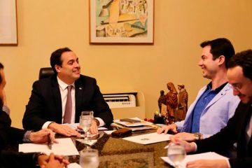 Clodoaldo Magalhães junto ao Governo do Estado – Foto/ Rodolfo Barbosa