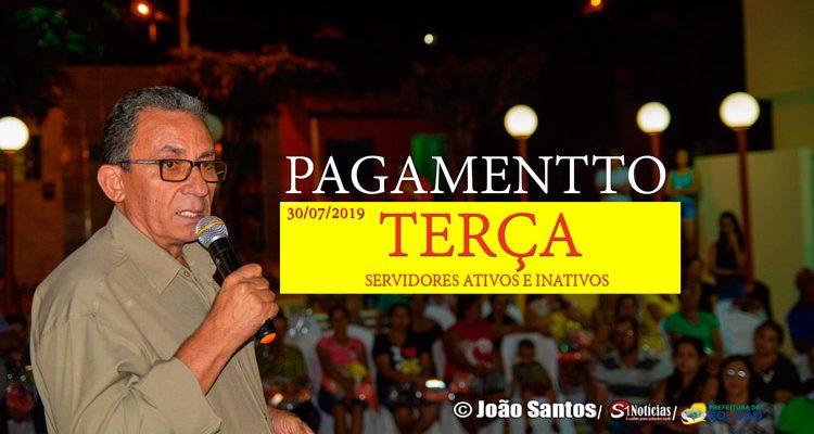 Prefeitura de Solidão confirma pagamento de julho de 2019