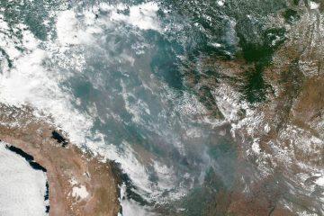 Queimadas na Amazônia podem ser vistas do espaço, mostra Nasa