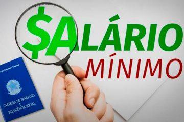 Salário mínimo pode ir a R$ 1.040 em 2020