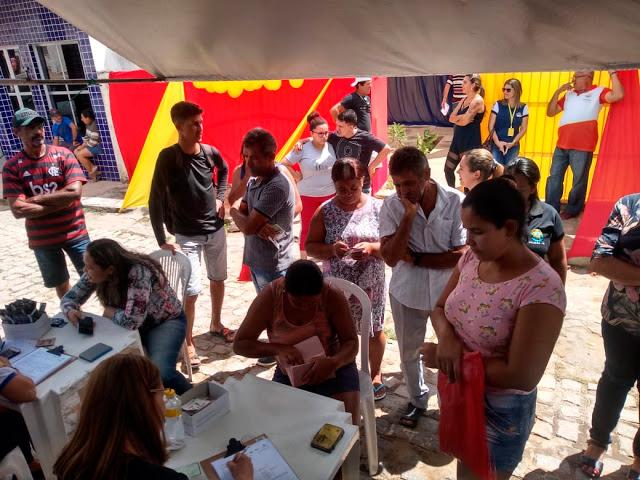 Ação de Testagem e Aconselhamento de HIV Sífilis e Hepatite B e C em Solidão PE – Foto/Girleno Veras