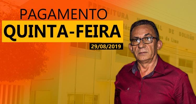 Prefeitura de Solidão confirma pagamento de agosto de 2019