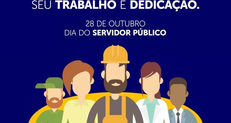 ¬¬Dia do Servidor Público - Mensagem do Prefeito Djalma Alves