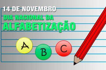 14 de Novembro - Dia Nacional da Alfabetização