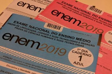 Em Pernambuco, quase 70 mil candidatos faltam o Enem 2019