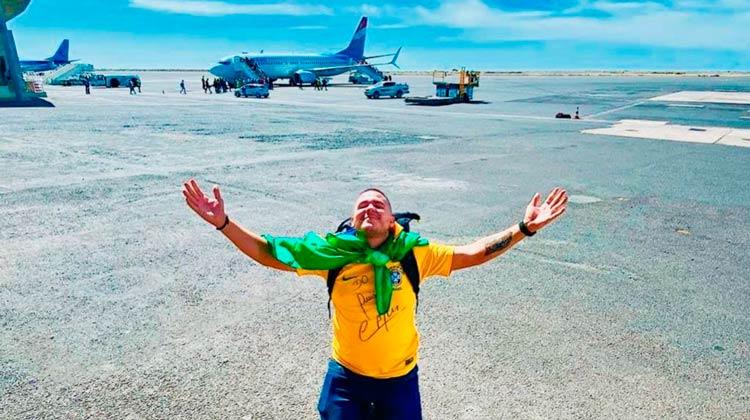 Nordestino bate recorde com viagem pelo mundo em 543 dias