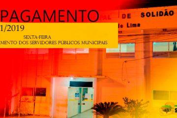 Prefeitura de Solidão confirma pagamento de novembro de 2019