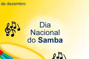 2 de dezembro - Dia Nacional do Samba